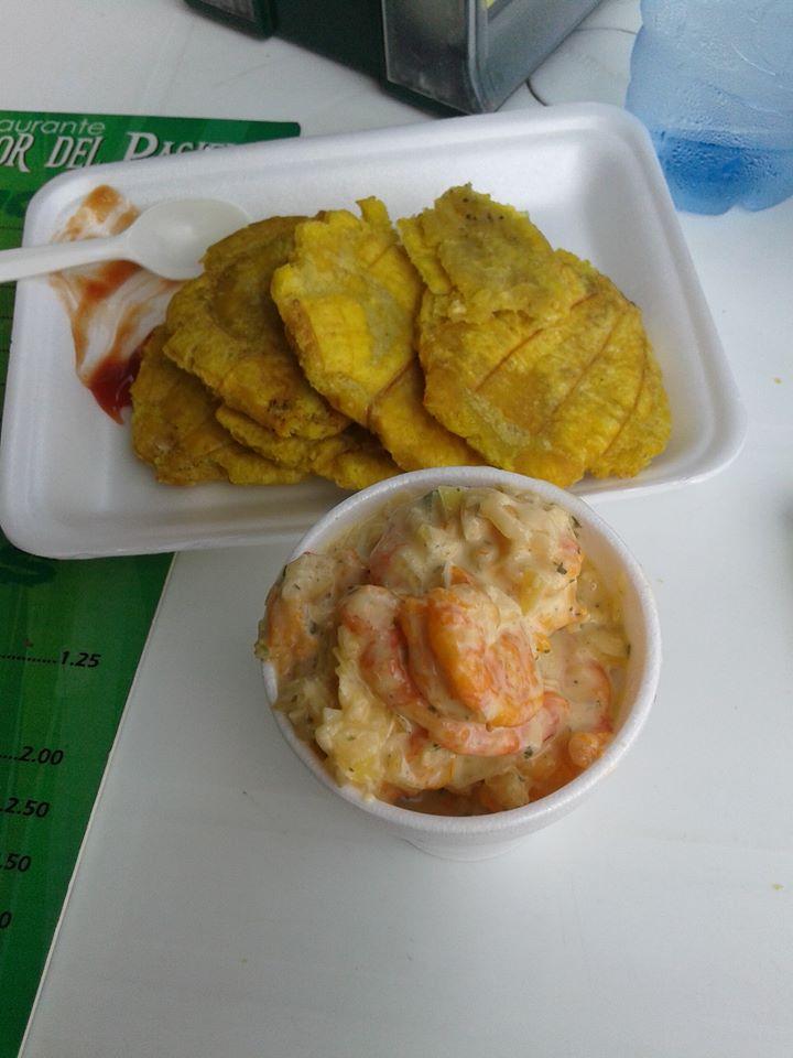 patacones+ceviche
