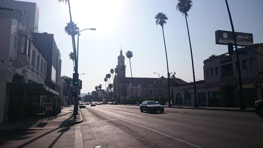 LA nem süt a nap